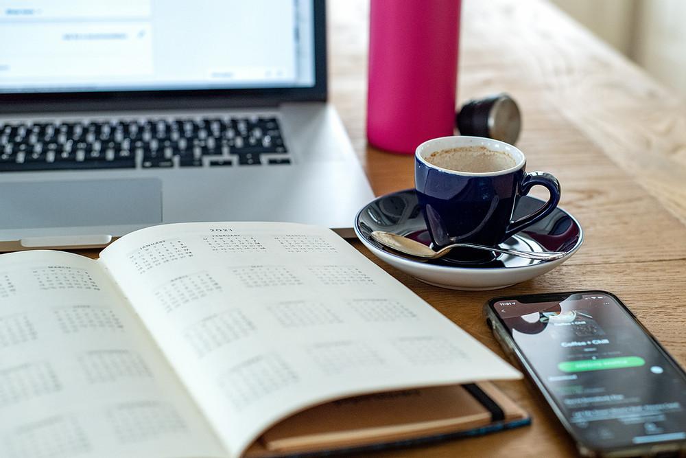 Creating a social media content calendar